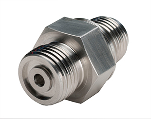 Precision Machining Steel Hexagonal Connector Fitting